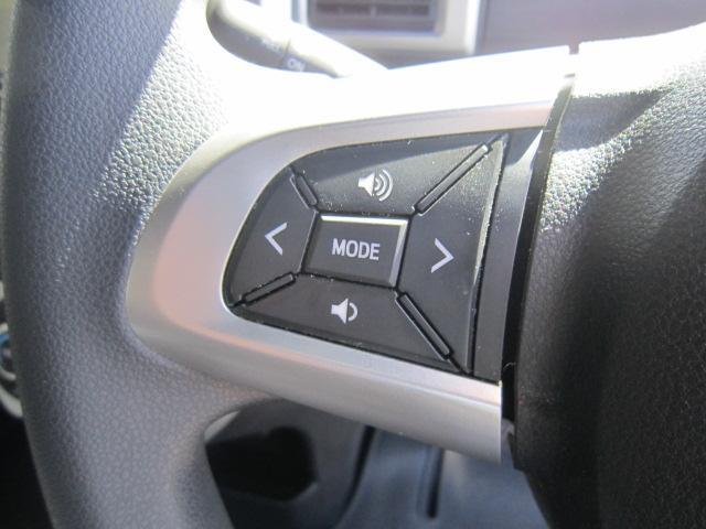 運転中でも手を離さずにオーディオの操作ができる『ステアリングスイッチ』機能があります!