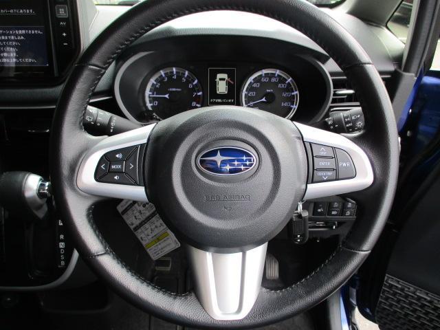 カスタムRS スマートアシスト 4WD ターボ 軽減ブレーキ 純正9インチフルセグナビ パノラマモニター シートヒーター ビルトインETC LEDライト フォグランプ オートライト オートエアコン スマートキー プッシュスタート(19枚目)