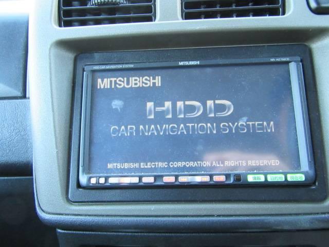 三菱 パジェロミニ VR-S HDDナビ ミュージックサーバー