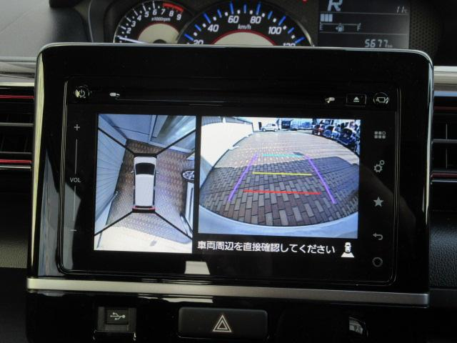 スズキ ワゴンRスティングレー L デュアルレーダーブレーキS 全方位モニター付きナビ