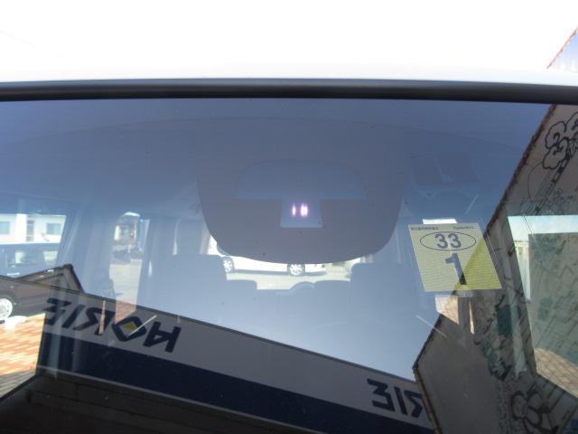 常にカメラが前方を監視しているので、うっかりよそ見をしていてもブレーキをかけてくれるので安心。
