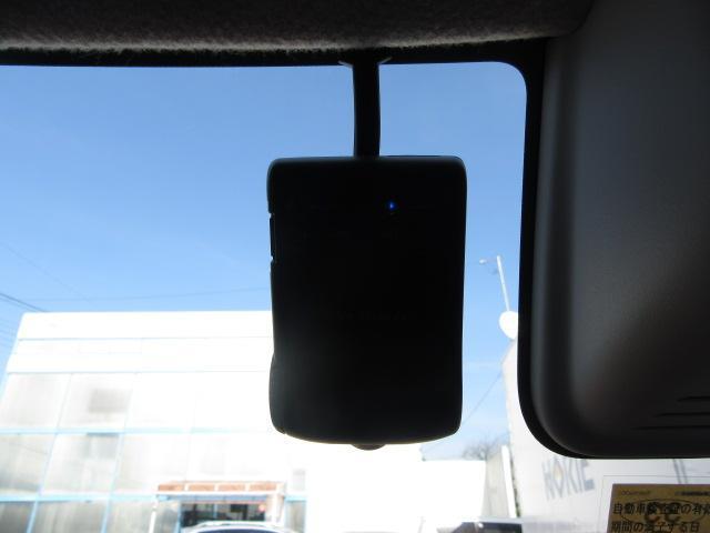 万一の際の映像を記録するドライブレコーダーも装備!今流行りの装備ですね♪
