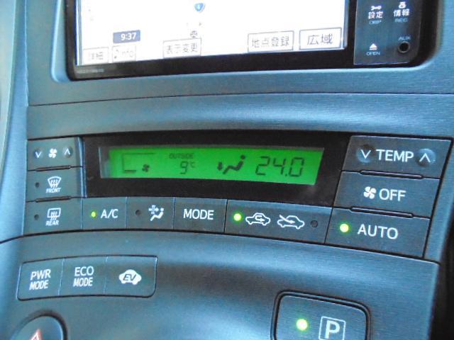 トヨタ プリウス G LEDエディション フルセグSDナビ 本革シート ETC