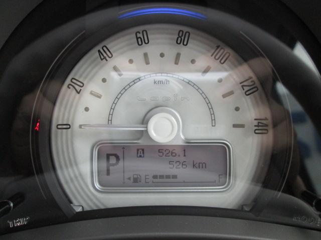 走行距離は526kmです。(走行距離は撮影時の数値です。実際には変動があります。予めご了承ください。)