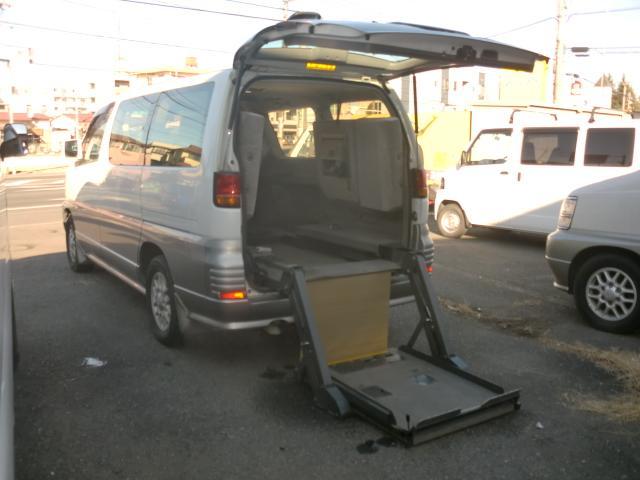 日産 エルグランド 車椅子電動リフト付き 身体障害者輸送車登録 記録簿