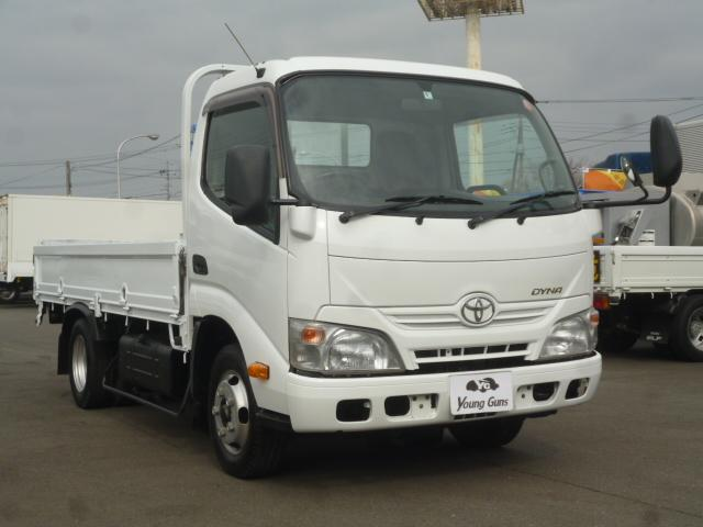 4.0D 平ボディ2トン積載 車両総重量4.435kg(6枚目)