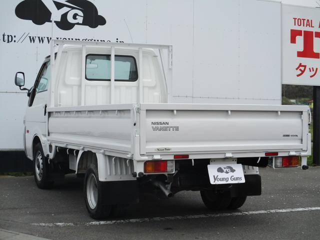 平ボディ 後輪Wタイヤ 1トン積載 ガソリン車(9枚目)