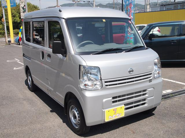 DX ワンオーナー 禁煙車 キーレス レベライザー 日産保証(4枚目)