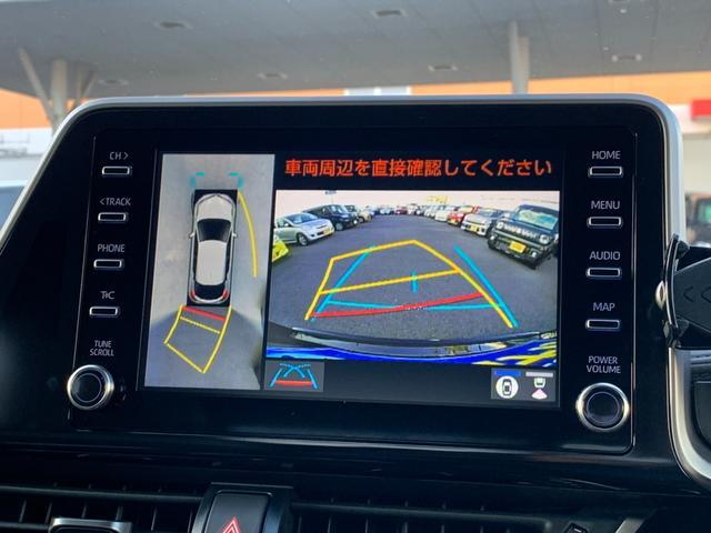 G-T 純正8インチディスプレイオーディオ ナビTV付 全方位カメラ インテリジェントクリアランスソナー ETC2.0 ハーフレザーシート LED セーフティセンス ACC レーンキープ 18インチAW(9枚目)