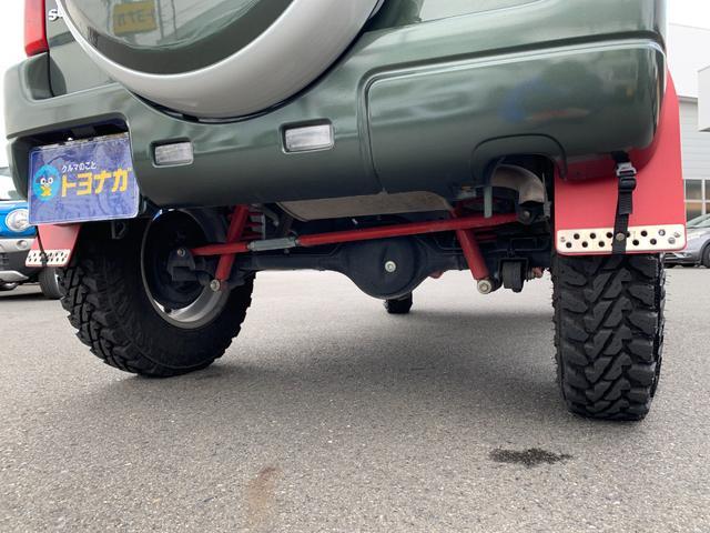 ランドベンチャー 5MT 4WD ナビフルセグTV バックサイドモニター ドラレコ ワンオーナー 2インチリフトアップ 社外リーディングアーム 社外ラテラルロッド マッドタイヤ 車検R5年1月 マット バイザー(14枚目)