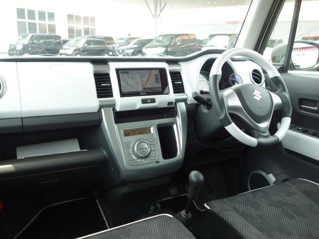 G 5MT リフトアップ MLJ14インチアルミ グラントレックタイヤ レアルステアリング LEDライト SDナビ フルセグTV シートヒーター 前後ドラレコ 車検整備付 ワンオーナー OP色(6枚目)