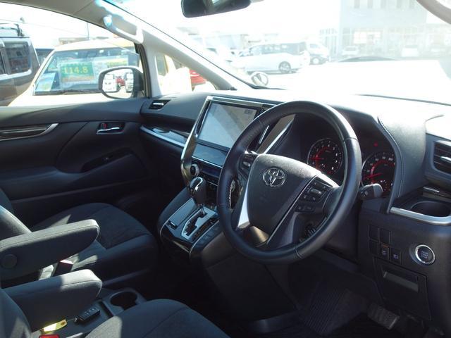 2.5Z ワンオーナー 車検整備付 ツインムーンルーフ OPカラー トヨタセーフティセンス 純正10.5インチフルセグナビTV バックカメラ 両側電動スライドドア 純正ETC2.0 7人乗り(6枚目)