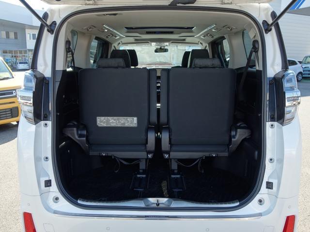 2.5Z ワンオーナー 車検整備付 ツインムーンルーフ OPカラー トヨタセーフティセンス 純正10.5インチフルセグナビTV バックカメラ 両側電動スライドドア 純正ETC2.0 7人乗り(19枚目)