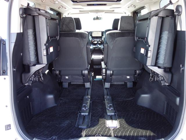 2.5Z ワンオーナー 車検整備付 ツインムーンルーフ OPカラー トヨタセーフティセンス 純正10.5インチフルセグナビTV バックカメラ 両側電動スライドドア 純正ETC2.0 7人乗り(43枚目)