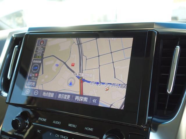 2.5S Cパッケージ 新車保証継承付 9インチTコネクトナビ付ディスプレイオーディオ フルセグTV 12.1インチリアモニター バックカメラ 合皮シート 3眼LEDライト 純正18インチAW 両側電動スライドドア(8枚目)