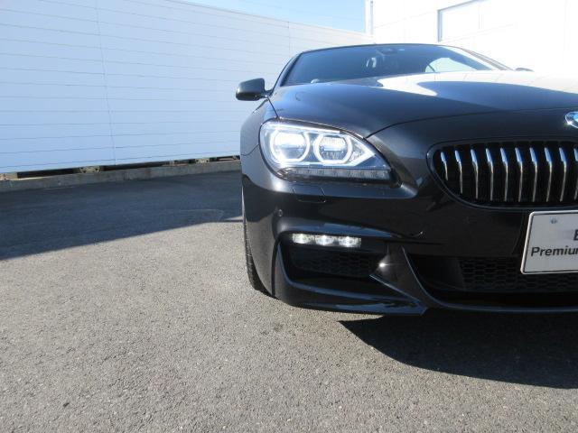 BMW BMW 650iカブリオレ 禁煙車 アイボリーレザーシート LED