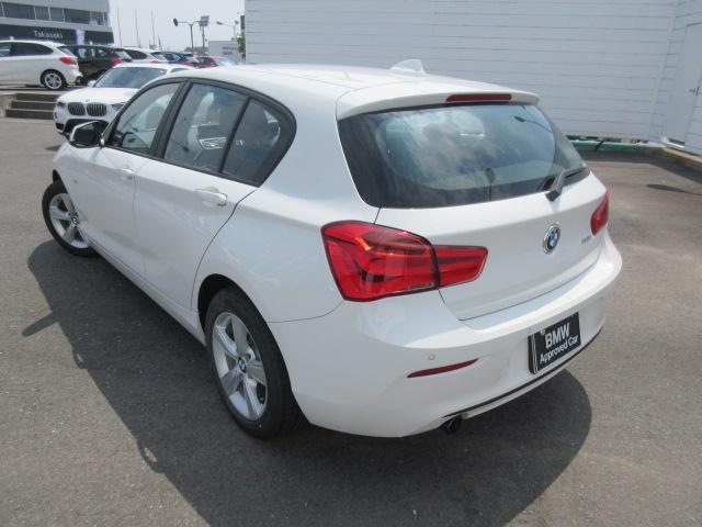 BMW BMW 118i スポーツ 当社デモカー禁煙車 バックカメラ