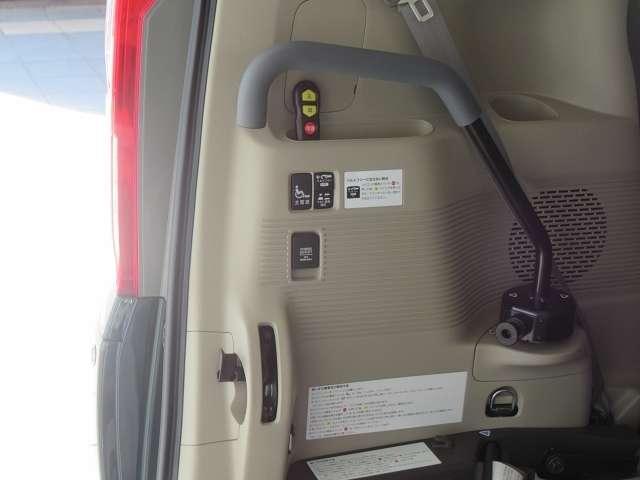 電動ウィンチで車椅子もスムーズに乗り降りできますよ!