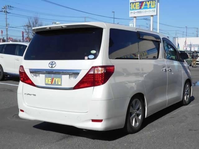トヨタ アルファード 240G SDナビ 両側電動ドア フリップダウンモニター