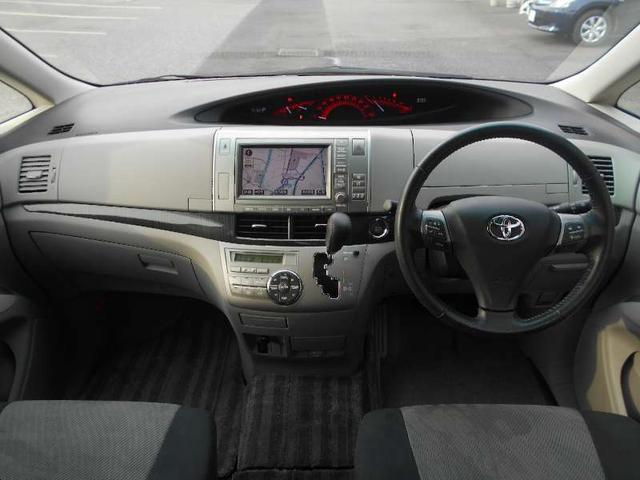 トヨタ エスティマ アエラスSパッケージ 7人 メーカーツインナビ 両側自動ドア