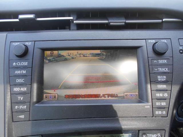 トヨタ プリウス G メーカーOP HDDナビ サンルーフ ビルトインETC