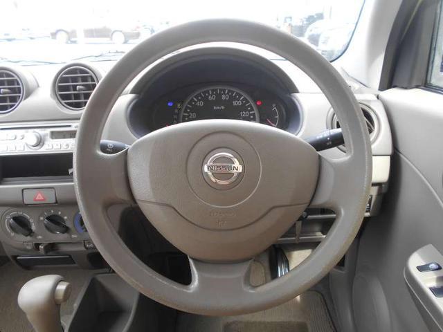 日産 ピノ S セキュリティ キーレス CD ライトレベライザ