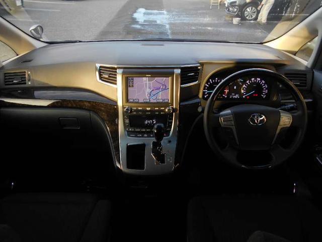 トヨタ アルファード 240S Cパッケージ エグゼクティブシート両側電動スライド