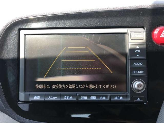 ホンダ インサイト L メーカーHDDナビワンセグTV DVD再生 キセノン