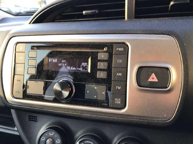 トヨタ ヴィッツ F CD AUX キーフリー 盗難防止 ETC スペアキー
