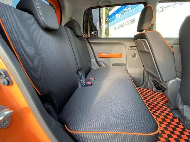 Xターボ CVTターボ 4WD 2トーンルーフ シートヒーター HIDヘッドライト フォグランプ スマートキー 盗難防止装置 横滑り防止装置 オートA/C ミラーウィンカー スペアキー 保証書 記録簿(14枚目)
