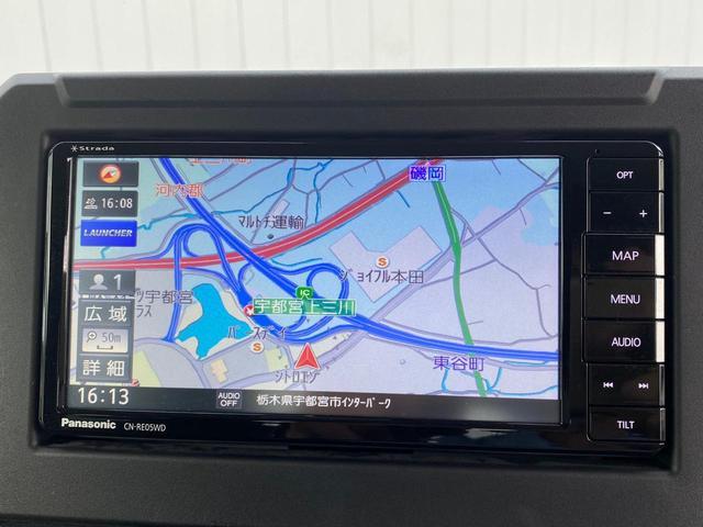 JC フル装備 1オーナー 社外SDナビ 12セグTV DVD BLUETOOTHオーディオ ETC 衝突軽減ブレーキ 車線逸脱警告 クルーズコントロール スマートキー LEDヘッドライト 保証書(23枚目)