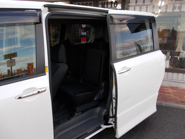 トヨタ ヴォクシー ZS 煌II ワンオーナー 新車から記録簿9枚付き
