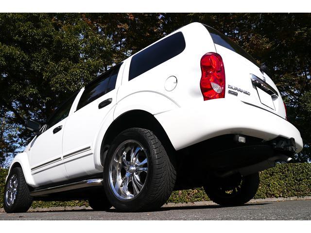 ダッジ ダッジ デュランゴ リミテッド 4WD 新車並行車 実走行確認済 ナビ Bカメラ