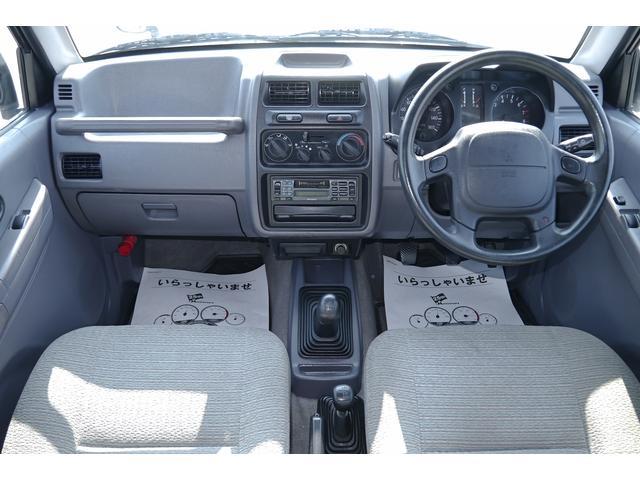 三菱 パジェロジュニア ZR-II 4WD キーレス ハード背面タイヤカバー付