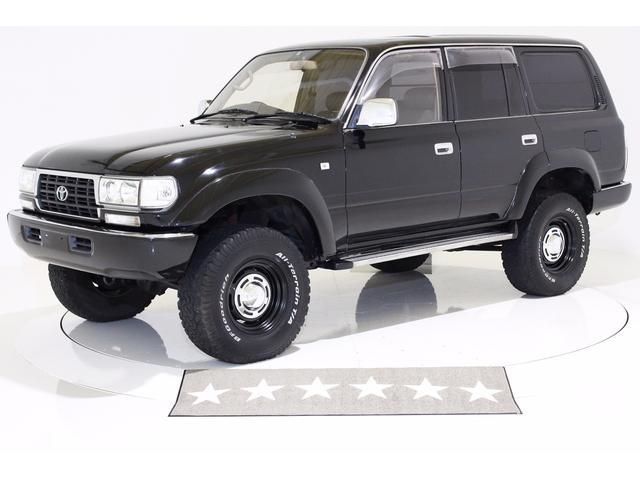 GX 4WD リフトUP サンルーフ レザー調シートカバー(2枚目)