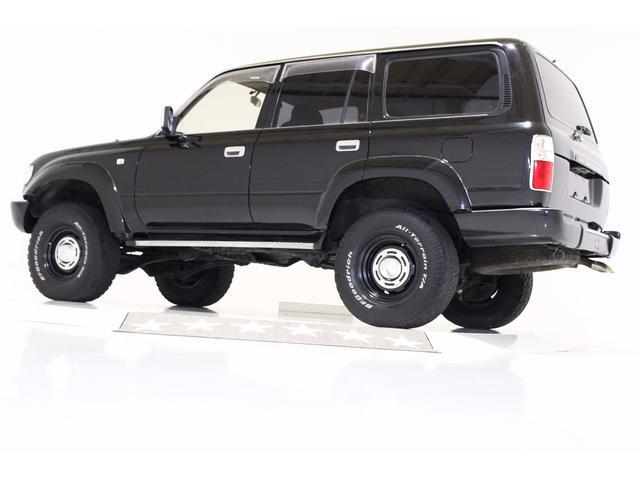 GX 4WD リフトUP サンルーフ レザー調シートカバー(9枚目)