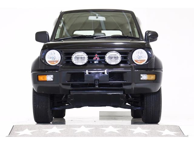 三菱 パジェロジュニア ZR-II 4WD レトロヘッドライト 背面タイヤカバー