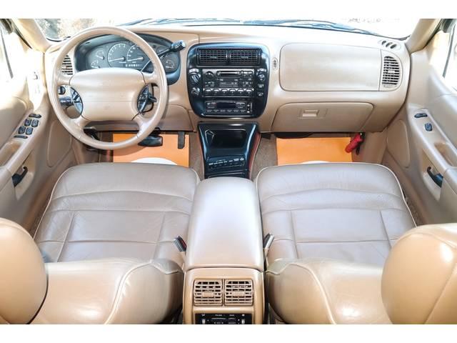 フォード フォード エクスプローラー リミテッド 4WD 左ハンドル ディーラー車 内装ブラウン