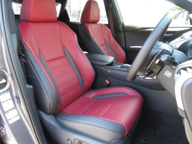レクサス NX NX300hFスポーツ4WD 1オナ赤革 レーダC パノラV