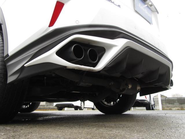 RX450hFスポーツ1オナ黒革SRパノラV TRDマフラー(10枚目)