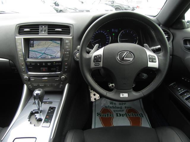 IS350Fスポーツ 黒半革SR TEIN車高調 Lエアロ(11枚目)