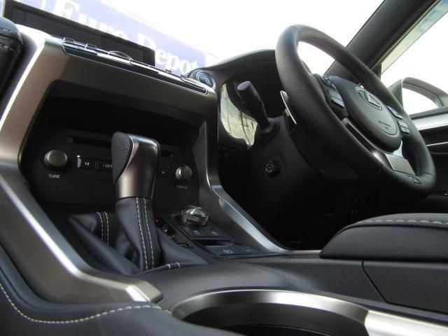 NX300hFスポ4WD現行 1オナ黒革SRパノラV HUD 現行モデル 4WD 1オナ黒革SR 純ナビ地デジ LSS+ パノラミックV BSM AHS カラーHUD 禁煙車 PKSB 名栗P 後席電動 AC100W スカッフI カップI 寒冷地 3眼LED(72枚目)
