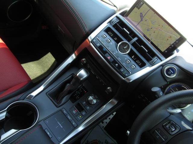 NX300hFスポ4WD 1オナ赤革PSR パノラV HUD 後期 4WD 1オナ 赤革パノラマSR 純ナビ地デジ LSS+ パノラミックV BSM PKSB 禁煙車 TVジャンパ Dレコーダ AHS RCTA カラーHUD 後席電動 AC100W 3眼LED(16枚目)