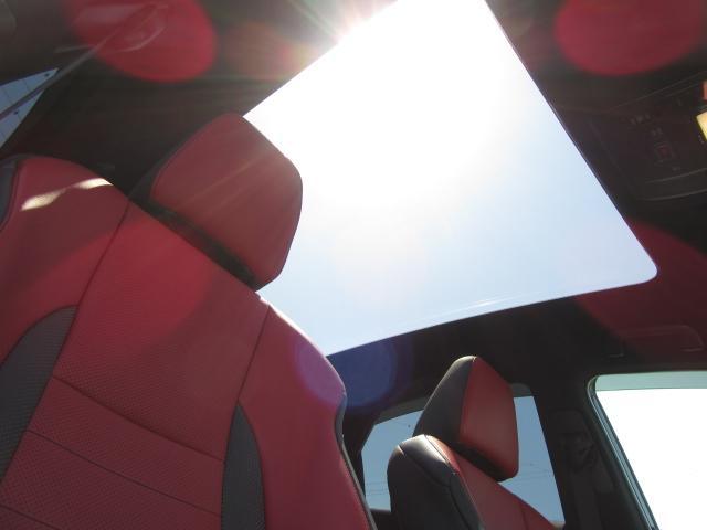 NX300hFスポ4WD 1オナ赤革PSR パノラV HUD 後期 4WD 1オナ 赤革パノラマSR 純ナビ地デジ LSS+ パノラミックV BSM PKSB 禁煙車 TVジャンパ Dレコーダ AHS RCTA カラーHUD 後席電動 AC100W 3眼LED(18枚目)
