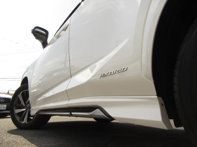 NX300hVerL4WD1オナ黒革SRパノラV モデエアロ 4WD 1オナ黒革SR ナビ地デジ LSS+ パノラミックV BSM PKSB カラーHUD 禁煙車 Dレコーダ エンスタ RCTA AHS 後席電動&H 3眼LED ルーフR 同色アーチ モデエアロ(49枚目)