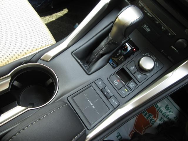 NX300hVerL 白革SRマクレビ 全レーダC TOMS 後期 白革SR 純ナビ地デジ マクレビ 全車速レーダC プリクラ パノラV BSM AHB LDA HUD 禁煙車 TVジャンパ 後席電動 AC100W PBドア 3眼LED トムスエアロ&4本マフラ(79枚目)
