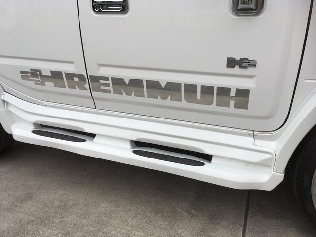 ハマー ハマー H2 タイプG 三井物産ディーラー車
