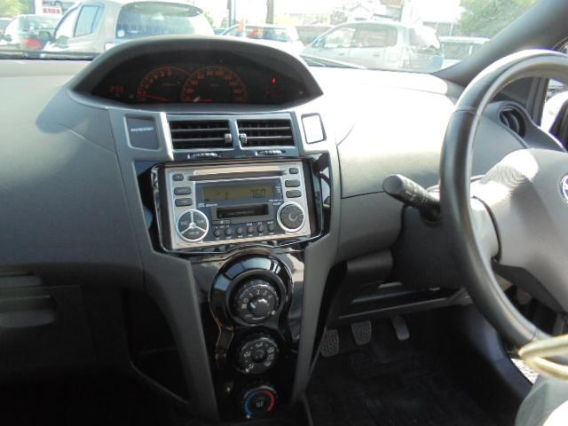 トヨタ ヴィッツ RS フルエアロ 15インチ HID CD 取説記録 後期型