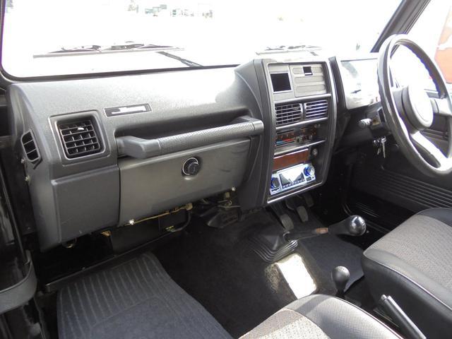 サマーウインド リミテッド 4WD5速マニアル オートフリーホイールハブ エアコンパワステ タイミングベルトW/P交換済 タンクガード 社外マフラー マッドタイヤ新品(10枚目)