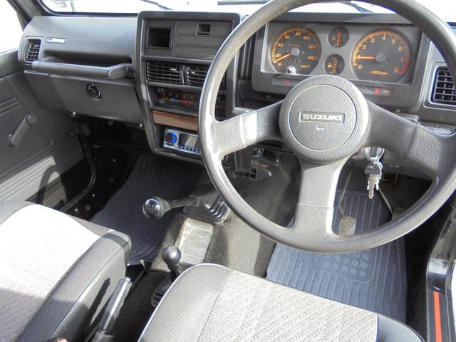 サマーウインド リミテッド 4WD5速マニアル オートフリーホイールハブ エアコンパワステ タイミングベルトW/P交換済 タンクガード 社外マフラー マッドタイヤ新品(18枚目)